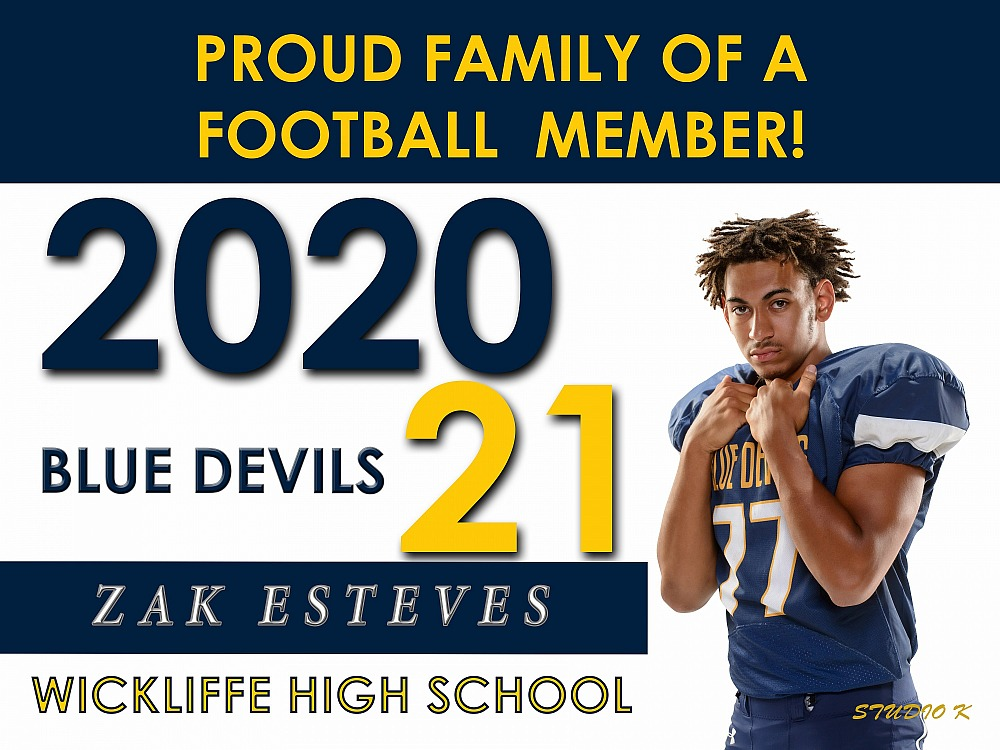Class of 2020-2021 Athlete, Band & Cheerleaders Signs,Banners & Car Magnets